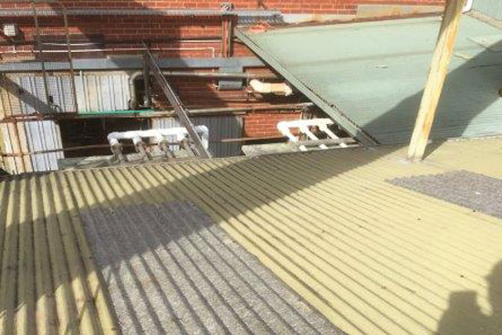 Commercial Roof and Spouting